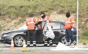 Fallece un hombre atropellado en el cruce que une Araia y Zalduondo