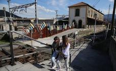 Renfe vigilará la estación de tren de Lutxana los fines de semana