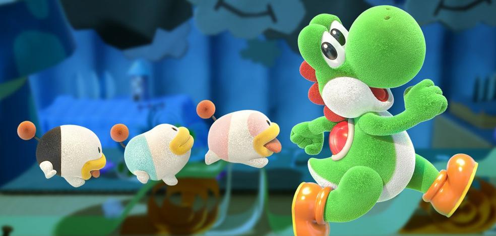 Yoshi's Crafted World: el clímax de lo adorable