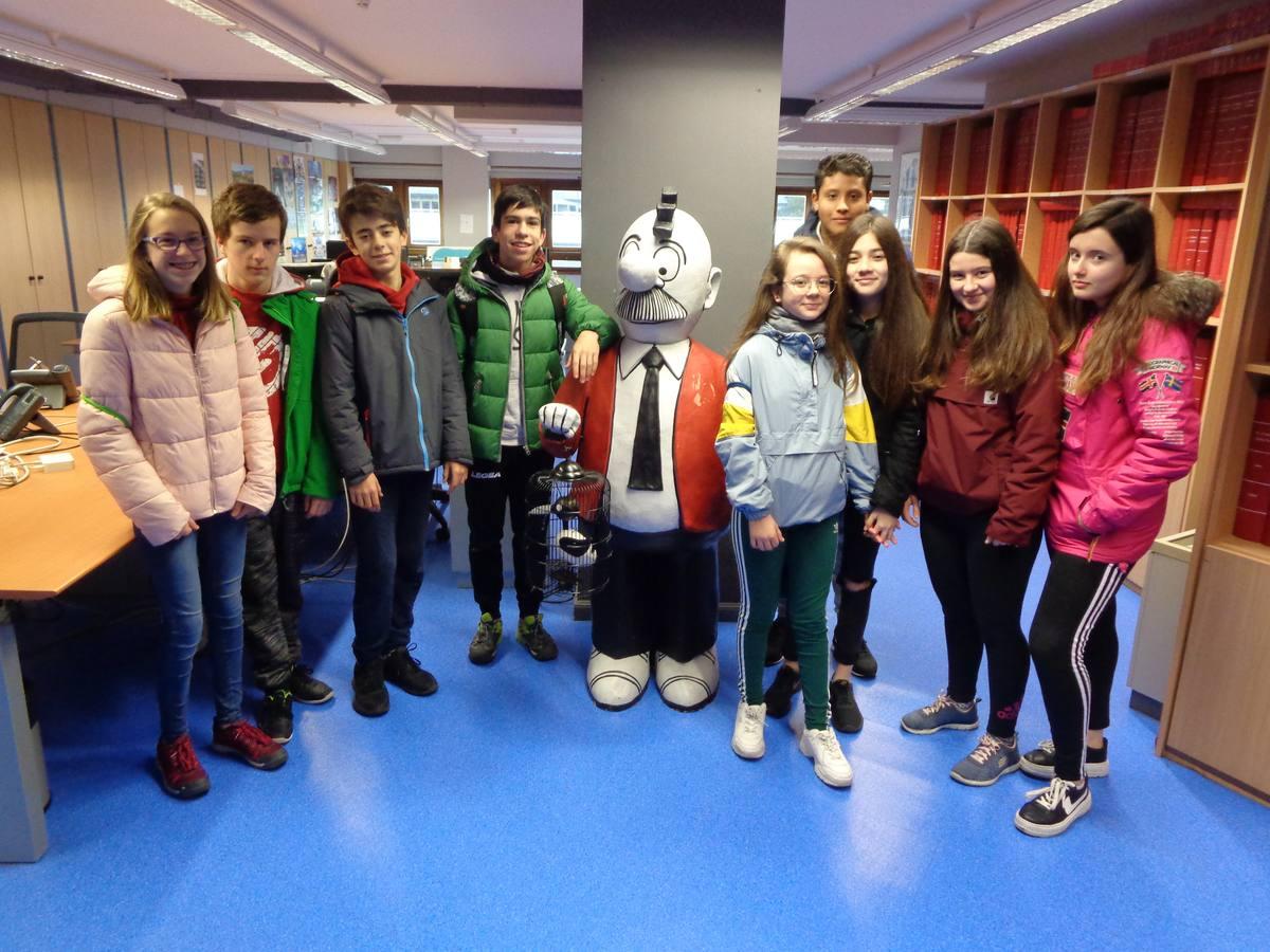 Visita centro escolar Koldo Mitxelena (Vitoria-Gasteiz) - 9 y 11 de abril de 2019