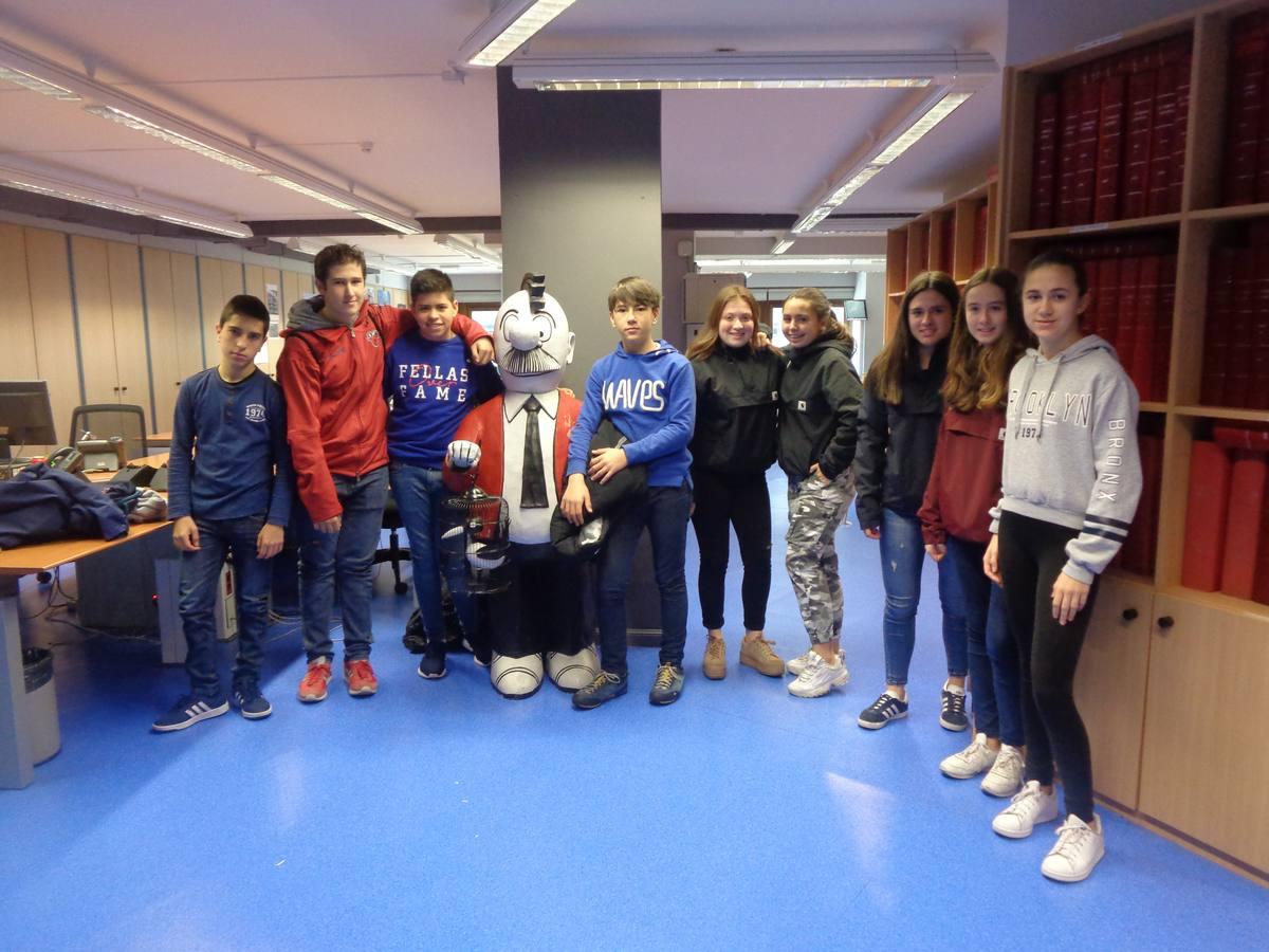 Visita centro escolar Mercedarias (Vitoria-Gasteiz) - 27 de marzo de 2019