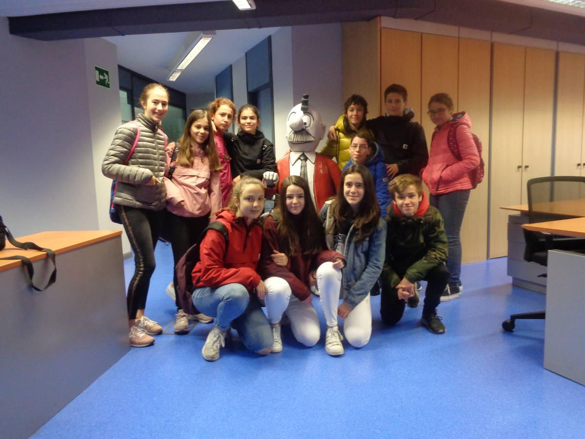 Visita centro escolar San Viator (Vitoria-Gasteiz) - 29 de marzo de 2019