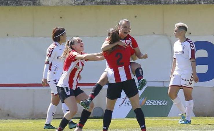 La victoria del Athletic ante el Albacete, en imágenes