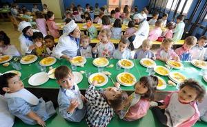 Educación modifica el concurso del servicio de comedores para intensificar la competencia