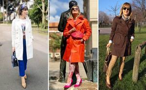 Catorce mujeres maduras con estilo te enseñan cómo lucir la gabardina