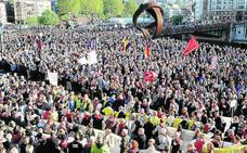 El movimiento por las pensiones irrumpe en la campaña electoral