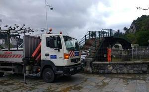 El puente de la playa de Ondarroa estará de obras en verano tras retrasos en la licitación