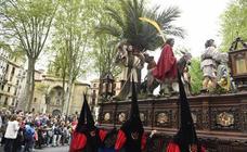Procesión de El Borriquito en Bilbao