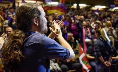 Iglesias reivindica en Eibar que el autogobierno sea «un debate de Estado»