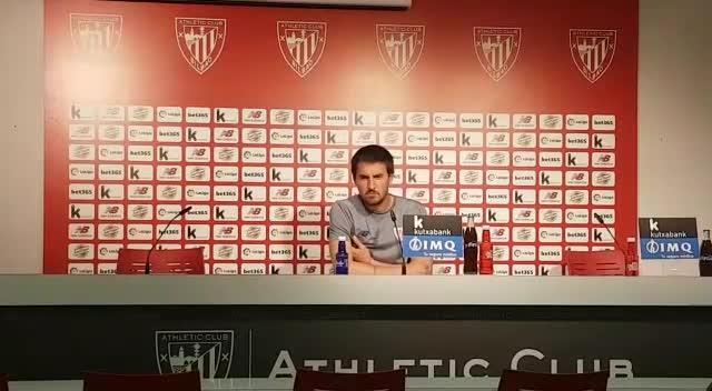 Solabarrieta: «El Bilbao Athletic tiene unos jugadores 'cojonudos'»