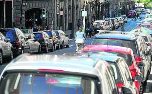 Bilbao llega a su máximo histórico con 140.000 coches, pero se usan poco