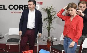 Rojo PP y calzado abertzale