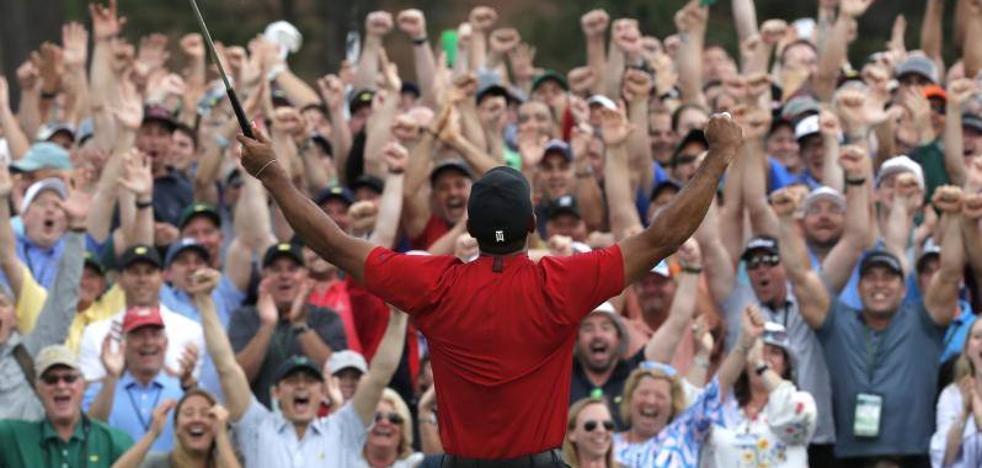 El nuevo Tiger Woods se humaniza