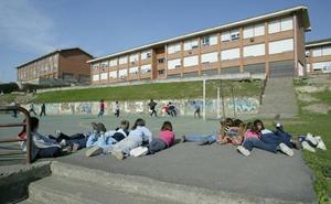Arrancan las obras del gimnasio del colegio Albiz de Sestao