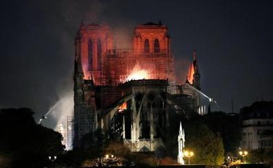 Últimas noticias del incendio de la catedral de Notre Dame