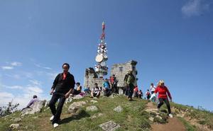 El torreón del Serantes será visitable en Cornites, a excepción de la azotea
