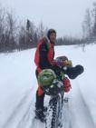 La aventura de un vasco en Alaska: 1.000 kilómetros en bicicleta sin ayuda externa