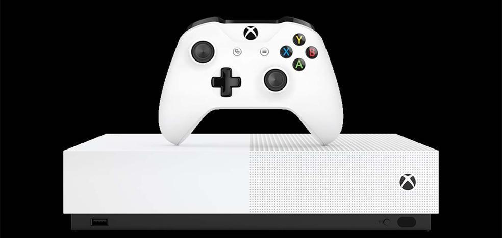 Microsoft anuncia Xbox One S All-Digital Edition, una consola sin lector de discos