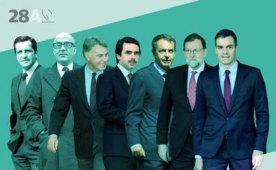 La herencia de siete presidentes