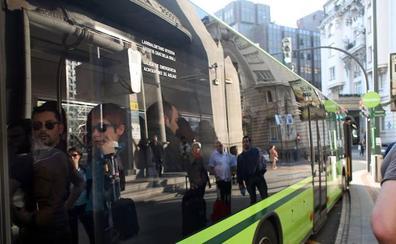 Bizkaibus estrena el lunes la nueva parada en Bolueta de la lanzadera de Galdakao