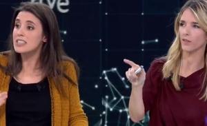 Duro rifirrafe entre Álvarez de Toledo e Irene Montero: «Me está acusando de justificar un delito de violación»