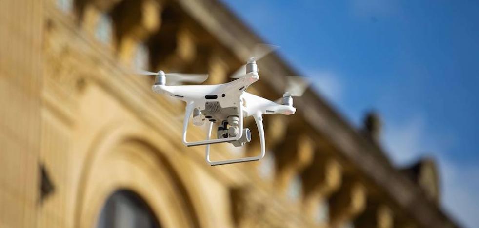 Drones vascos para las energías renovables