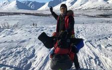 Sobre dos ruedas en Alaska
