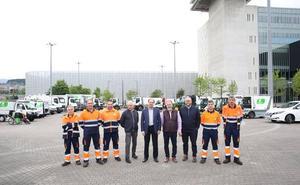 La nueva flota de limpieza de Barakaldo reducirá las emisiones y el ruido en las calles