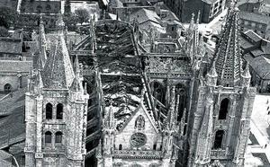 Incendio en la catedral de León: «Mi padre la salvó»