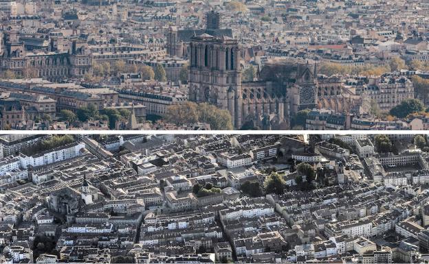 ¿Qué une Vitoria con 'Notre Dame'?