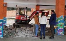 Acometen mejoras en el colegio Las Viñas de Santurtzi