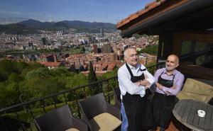 Kate Zaharra, un palco sobre Bilbao