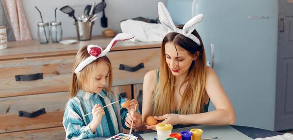 Diez manualidades creativas para compartir en familia en Semana Santa