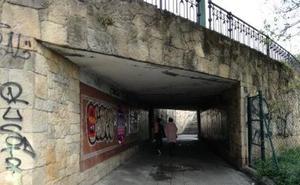 Mejoran la seguridad del túnel de la plaza de la Estación de Algorta