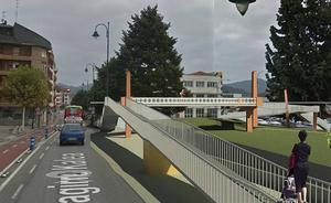 Gernika salvará las vías del tren con la pasarela de Astra a partir de agosto