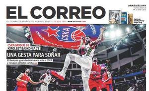 Este sábado no se publica EL CORREO
