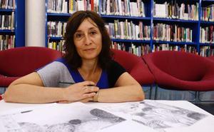 Euskadi Literatura Saria irabazi duen Yolanda Mosquera irudigilearen hitzaldia, asteartean, Goiuri Jauregian