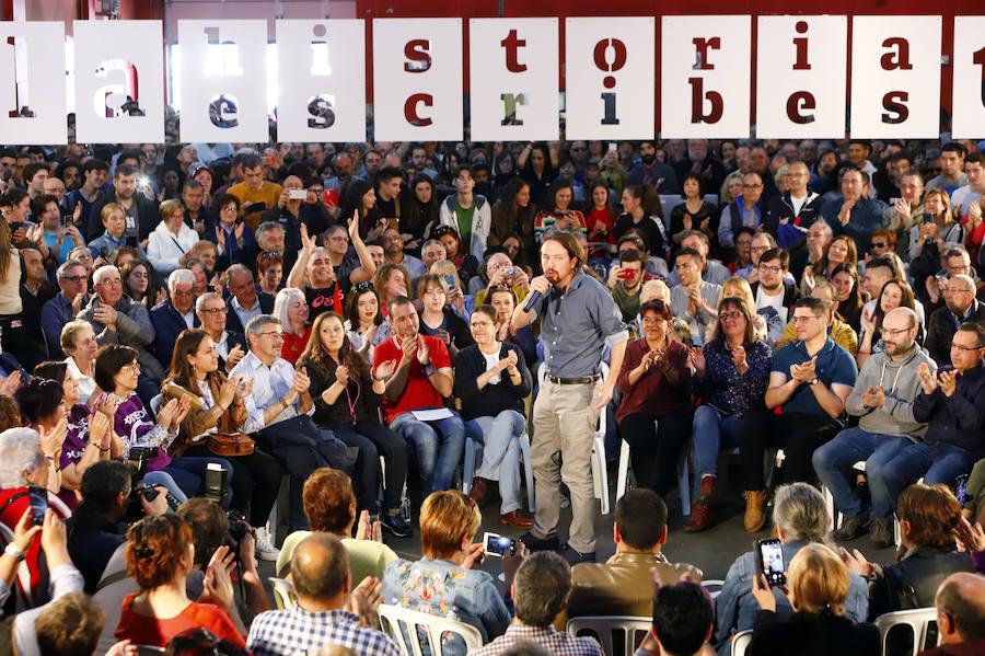 Unidas Podemos se presenta como «única garantía» de un gobierno de izquierdas