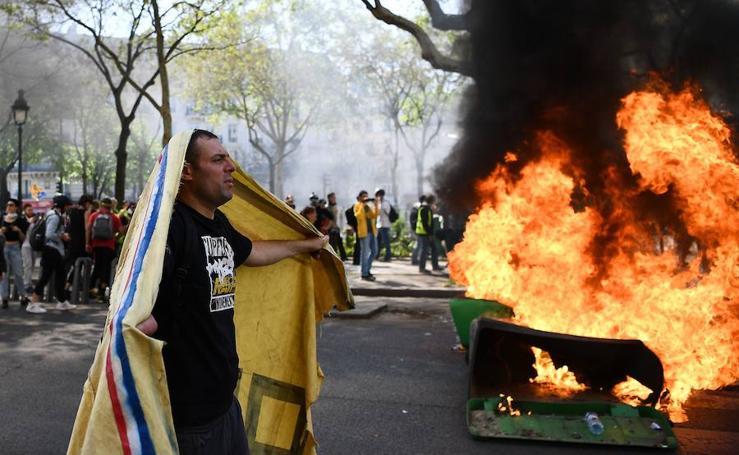 Disturbios en París con los 'chalecos amarillos'
