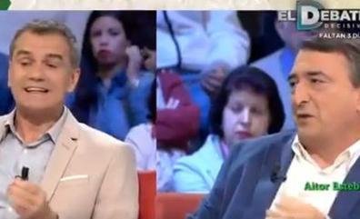 Aitor Esteban 'explica' a Toni Cantó cómo funciona el Cupo en un rifirrafe