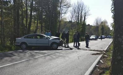 Fallece el conductor que sufrió un accidente de tráfico este sábado en Zuia