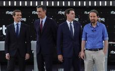 Rivera protagoniza los ataques más duros a Sánchez en un bronco debate