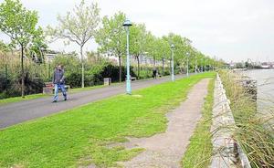 Bilbao Ría 2000 proyecta un gran parque junto al Nervión a su paso por Barakaldo