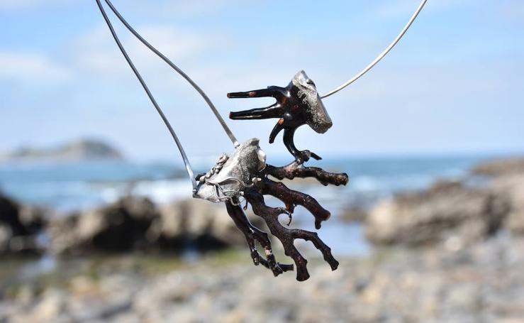 Las joyas que salen de las playas y montañas de Bizkaia
