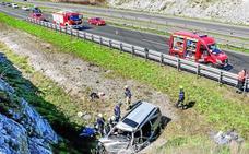 Álava registra en cuatro meses tantos muertos en las carreteras como en todo 2017