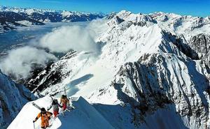 Una avalancha sepultó a los tres montañeros en Canadá