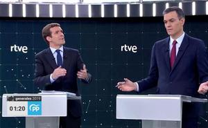 Portazo de Casado al PNV y críticas a Sánchez por aceptar el apoyo de Bildu