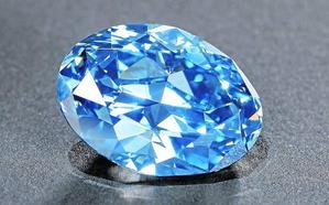 Descubren un espectacular diamante azul de 20 quilates en Botsuana