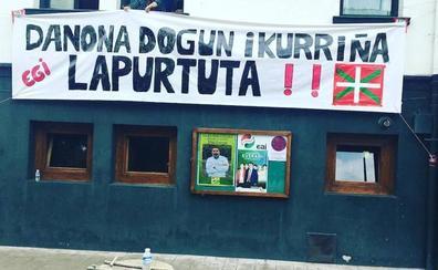 El PNV denuncia el robo de la ikurriña del batzoki de Lemoa