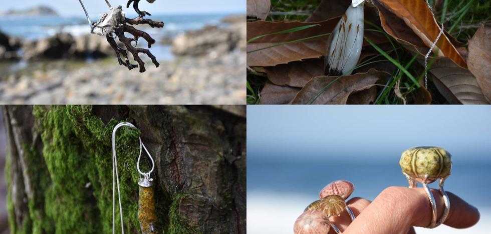 Las joyas que nacen en las playas y montañas de Bizkaia
